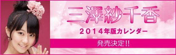 三澤紗千香2014年カレンダー
