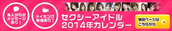 セクシーアイドル2014年カレンダー